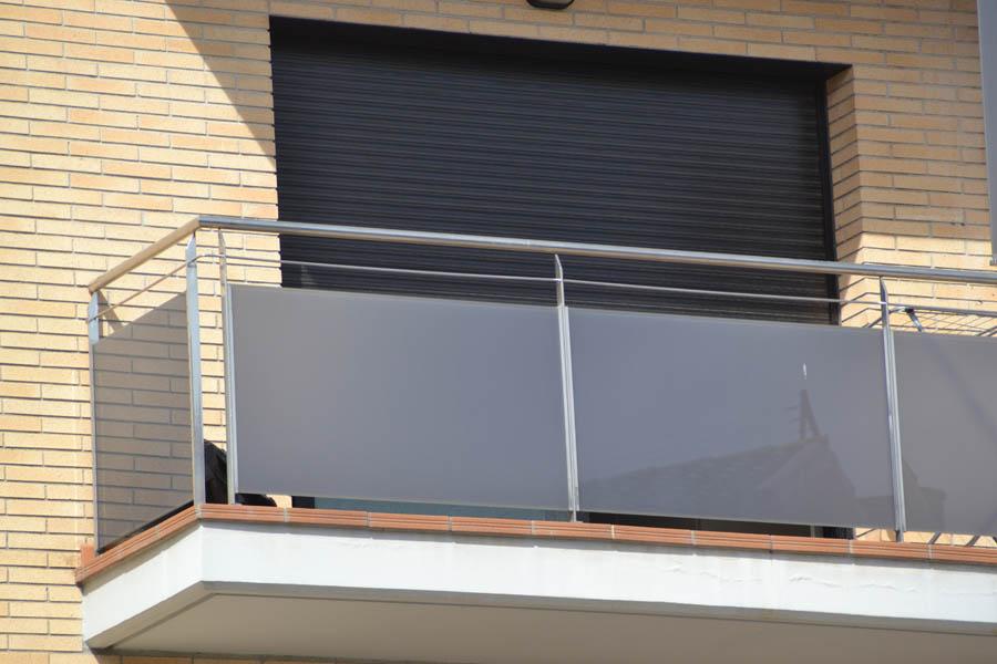 Inoxmetal vargas barandillas balcones de acero inoxidable - Balcones de cristal ...