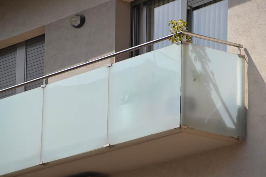 Inoxmetal vargas barandillas balcones de acero inoxidable - Barandas de cristal ...