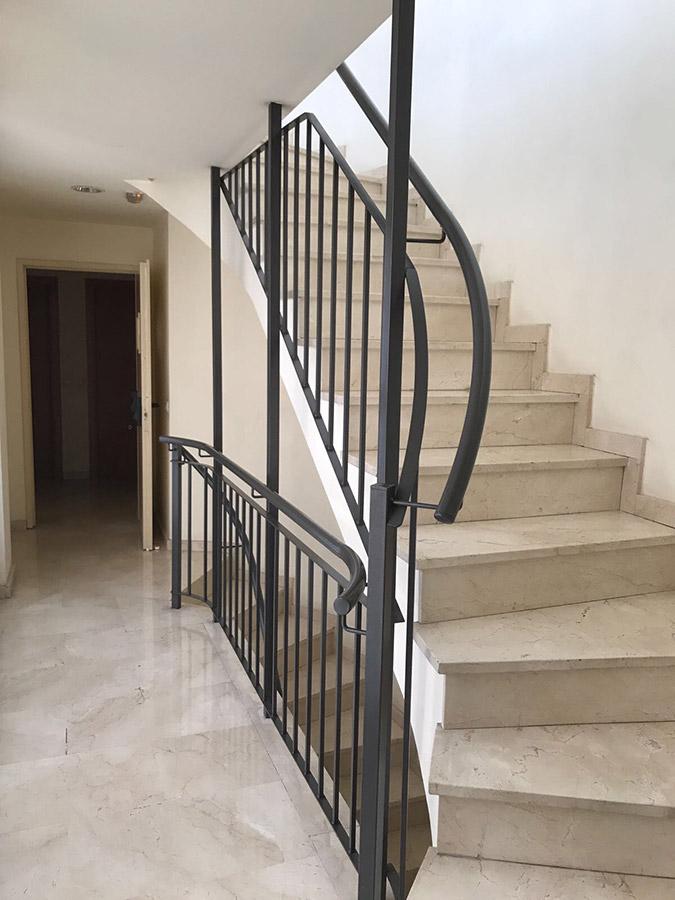 Pasamanos de hierro forjado para escaleras alta calidad - Escaleras hierro forjado ...